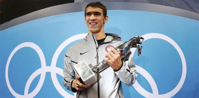 """Phelps: """"En büyük idolüm Michael Jordan"""""""