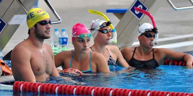 Yüzme Milli Takımı Dünya Şampiyonası'na hazırlanıyor