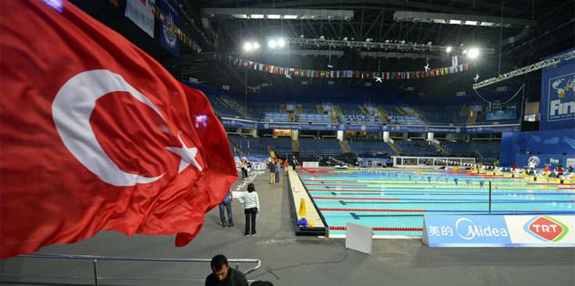 11. Dünya Kısa Kulvar Yüzme Şampiyonası başladı