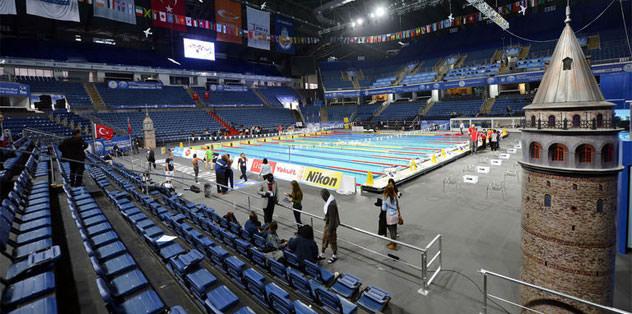 Kadınlar 100 metre sırtüstü seçmeleri yapıldı