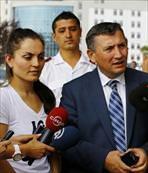 Atlet Binnaz Uslu Türkiye'ye getirildi