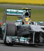 İngiltere'de ilk cep Lewis Hamilton'un