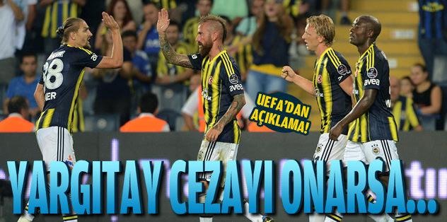 Fenerbahçe küme dü�ebilir