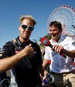 Sebastian Vettel Japonya Grand Prix'sinin de kralı