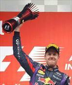 Formula 1'de şampiyon Vettel