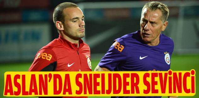 Sneijder sevinci