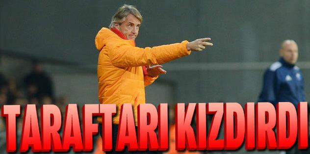 Mancini'ye tepki büyük