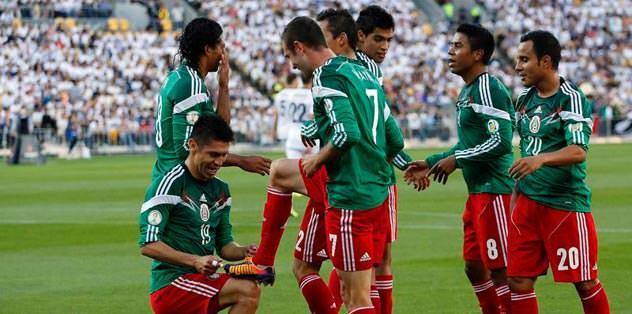 Meksika'ya Brezilya bileti