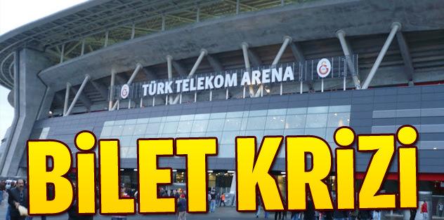 TT Arena'da bilet krizi