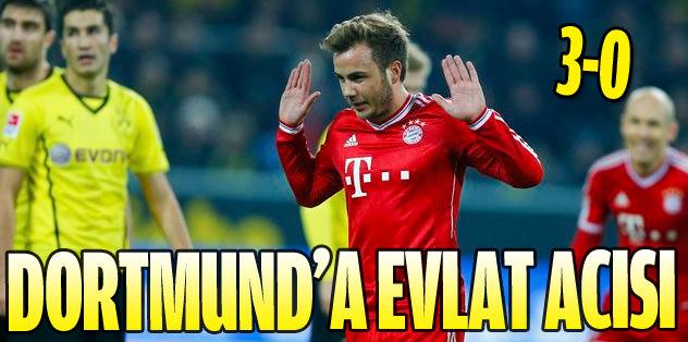 Bayern Dortmund'u dağıttı