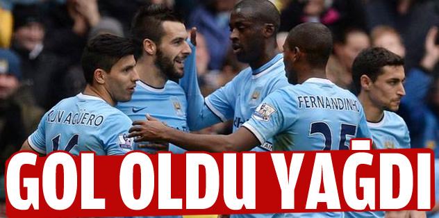 City gol oldu yağdı