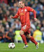 G.Saray'da Sneijder �oku