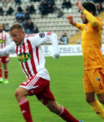 Sivasspor evinde co�tu