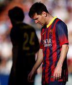Barcelona'yı Valladolid çarptı