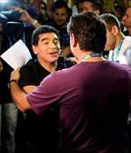 Maradona'ya statlar yasak