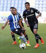 Besiktas lost the pre-season friendly