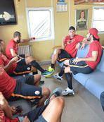 Galatasaray Bursa'ya gitti