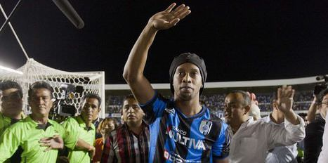 Ronaldinho'ya �rk�� s�ylem