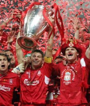 Liverpool'un 5 y�ll�k hasreti sona eriyor
