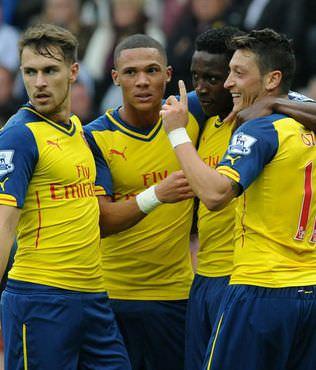 Arsenal 'Mesut' oldu