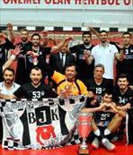 Beşiktaş Mogaz şampiyon oldu