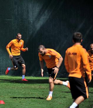 G.Saray Sivasspor'a haz�rlan�yor