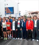 Atletler birinci oldu