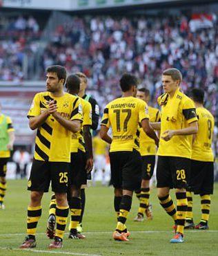 B. Dortmund b�y�k d���� ya��yor