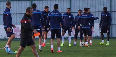 �.Rizespor'da Sivasspor haz�rl�klar�