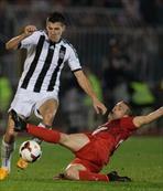 Rakip Partizan çok çetin ceviz