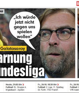 Dortmund galibiyeti Alman bas�n�nda
