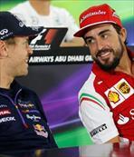 Alonso gitti Vettel geldi