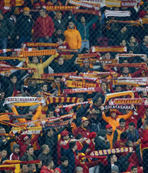 Trabzonspor'dan G.Saray taraftar�na te�ekkür