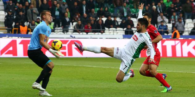 Konyaspor, Gaziantep'i 2 golle u�urlad�