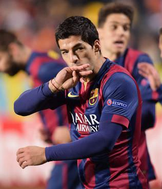 Suarez'den siftah, Messi'den yeni rekor!