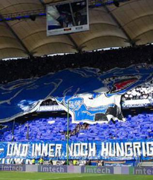Hamburg taraftar�n�n hayal k�r�kl���