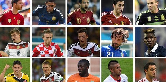 FIFA, 15 ki�ilik aday listesini a��klad�