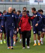 Trabzonspor haz�rl�klar� tam gaz