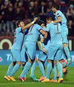 Trabzonspor kupada ilk galibiyet pe�inde