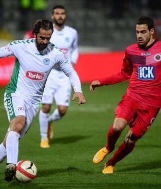 G.Birli�inde Konyaspor haz�rl�klar�