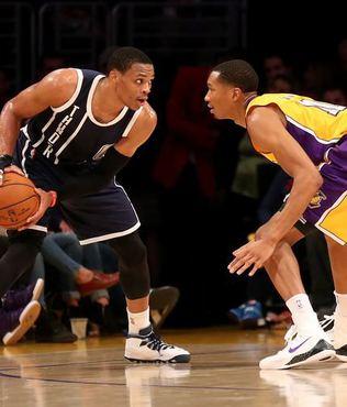 Durant's�z Thunder, Lakers'� yendi