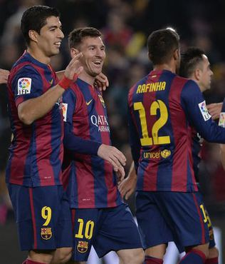 Messi yine 'Bar�a'lad�