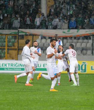 Trabzonspor'un kalesi d��t�