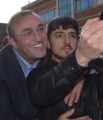 Diyarbakır'da Albayrak'la selfie