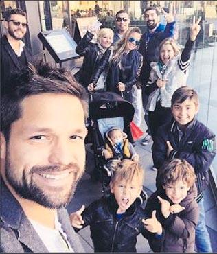 Diego'nun aile sevinci