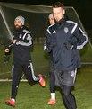 Yeni transfer Milosevic antrenmanda