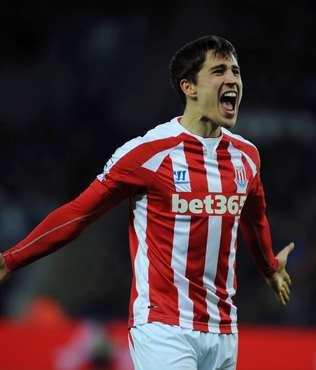Stoke City'de Krkic sezonu kapatt�