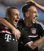 Ribery ve Rafinha en az iki hafta yok