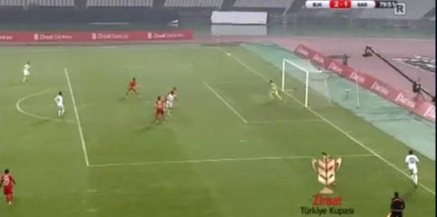 Sar�yer'in gol�