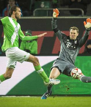 Bayern'in tekeri patlad�!